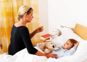 پرستار کودک بیمار