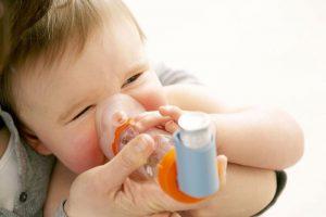 دمیار در آسم در کودکان