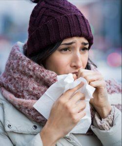 شیوع بیماری تنفسی فصلی