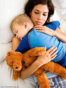 والدین و وحشت شبانه کودک