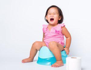 آموزش دستشویی رفتن به کودک زیر دو سال