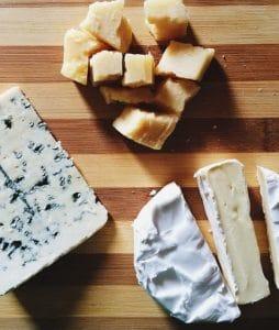 غذای ممنوع و پنیر