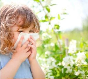 علایم آلرژی فصلی در کودکان