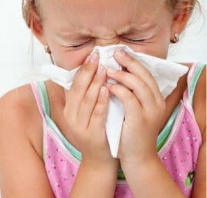 دلایل آلرژی فصلی در کودکان