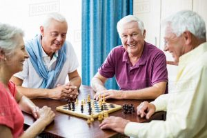 شطرنج و بازی فکری سالمندان