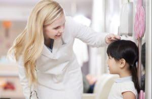 تعیین رشد قد کودکان