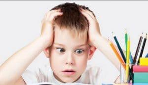 دلایل استرس در کودکان