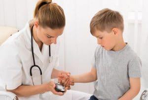 عوارض دیابت نوع دو در کودکان