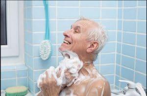 حمام  استاندارد سالمندان