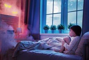 تشخیص ترس شبانه کودک